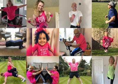 Cancer Research Race For Life At Home