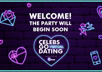 Celebs Go Virtual Dating commercial sponsorships pitch